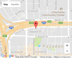 Office location on a Google Map