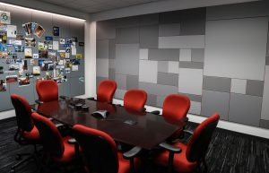 The FRY office conference room